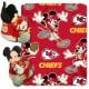 Blanket with Disney Hugger